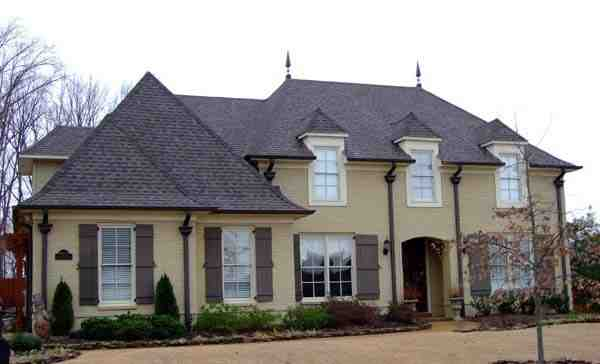 House Plan 63708 with 4 Beds, 3 Baths, 2 Car Garage Elevation