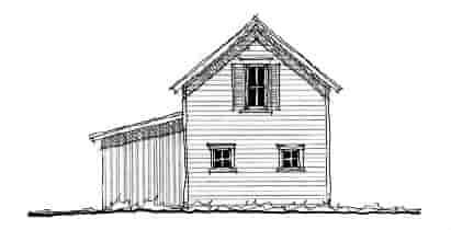 Historic 2 Car Garage Plan 73825 Elevation