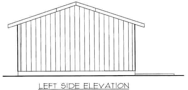 2 Car Garage Plan 87036 Picture 1