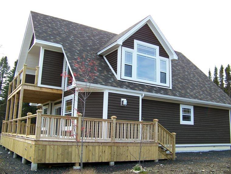 Cabin, Cottage House Plan 76032 with 3 Beds, 3 Baths Elevation
