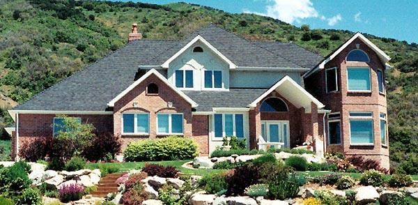 Traditional House Plan 79937 with 4 Beds, 3 Baths, 3 Car Garage Elevation