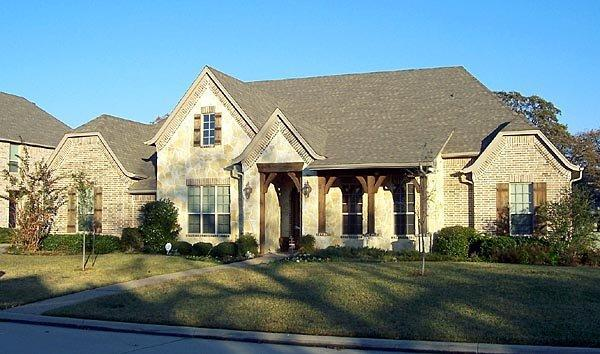 European House Plan 87931 with 4 Beds, 4 Baths, 3 Car Garage Elevation