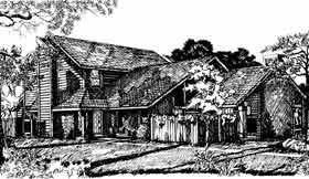 Country Multi-Family Plan 92292 with 6 Beds, 6 Baths Elevation