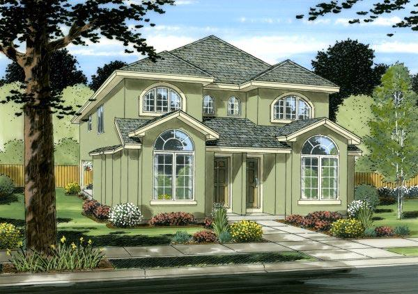 Multi-Family Plan 99954 with 6 Beds, 6 Baths Elevation