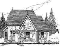 Plan Number 62415 - 922 Square Feet