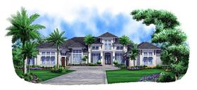 Plan Number 75924 - 5377 Square Feet