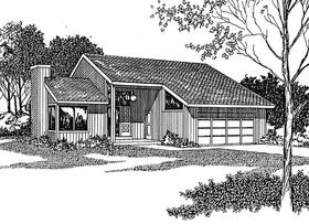 Plan Number 94011 - 1290 Square Feet