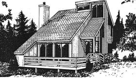 Plan Number 94015 - 1112 Square Feet