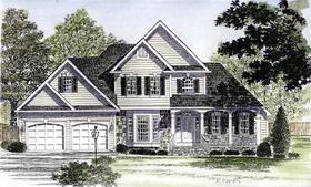 Plan Number 94173 - 2421 Square Feet