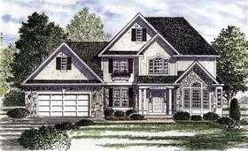 Plan Number 94180 - 2985 Square Feet