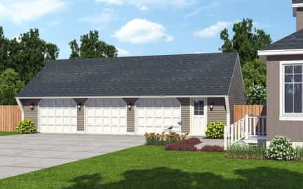 Garage Plan 30023