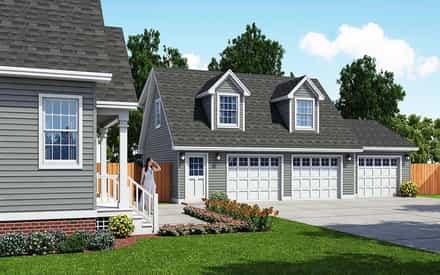 Garage Plan 30033