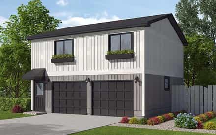 Garage Plan 30040