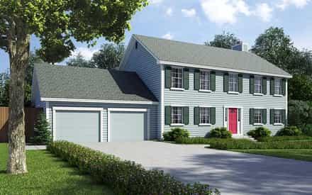 House Plan 34705