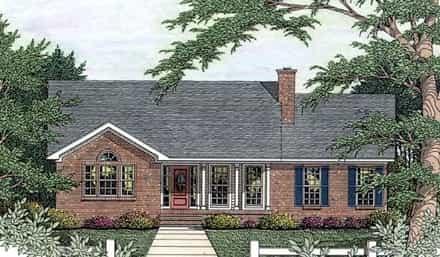 House Plan 40028