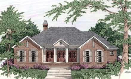 House Plan 40030