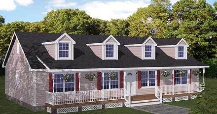 House Plan 40666