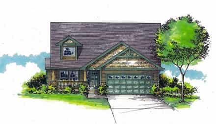 House Plan 44505
