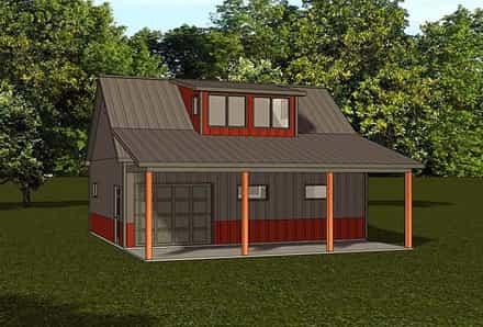 Garage Plan 50787
