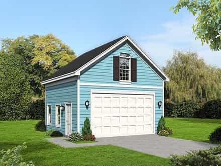 Garage Plan 51669