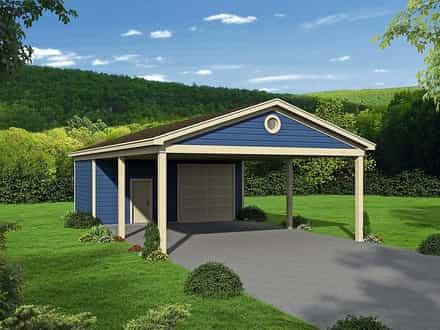 Garage Plan 51673