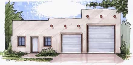 Garage Plan 54781