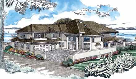 House Plan 55340