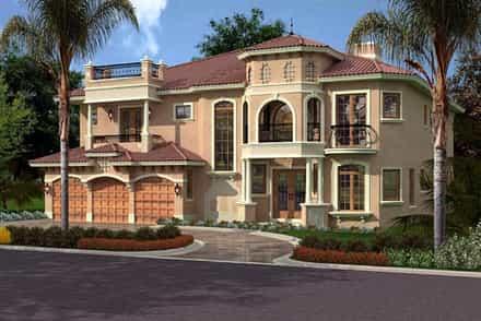 House Plan 55902