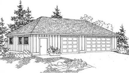 Garage Plan 59470