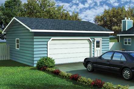 Garage Plan 6004
