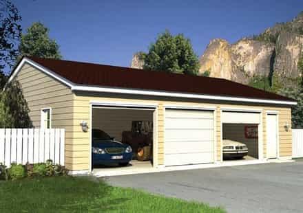 Garage Plan 6012
