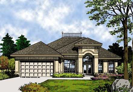 House Plan 63198