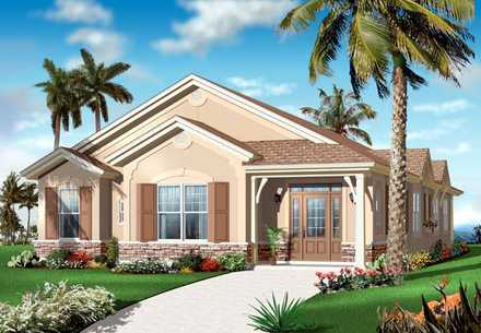House Plan 64899
