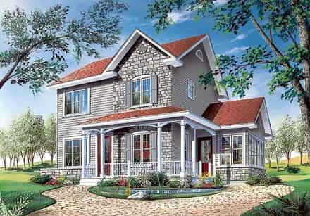 House Plan 65116