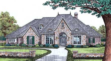 House Plan 66190