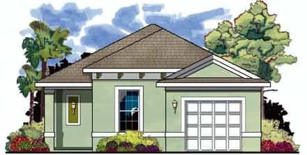 House Plan 66800
