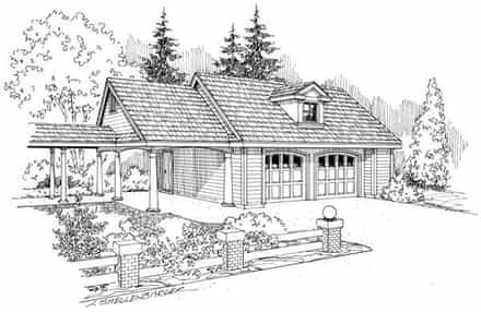 Garage Plan 69758