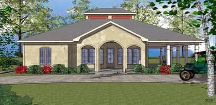 House Plan 72357