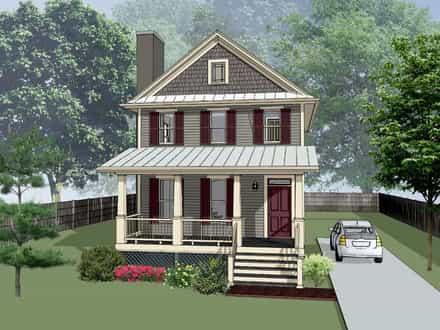 House Plan 75553