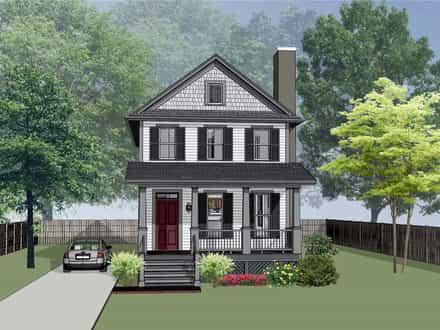 House Plan 75563