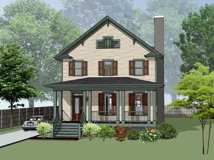 House Plan 75588