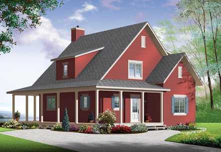 House Plan 76364