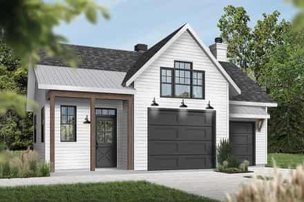 Garage Plan 76560