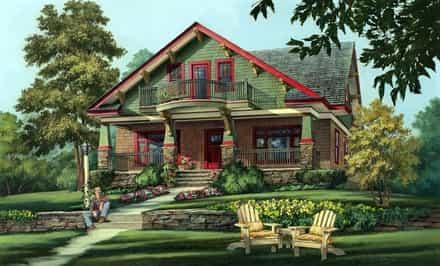 House Plan 86346