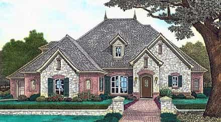 House Plan 89411
