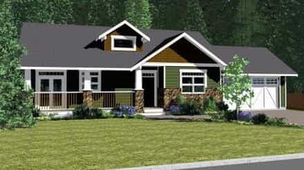 House Plan 90877