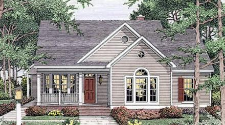 House Plan 40006