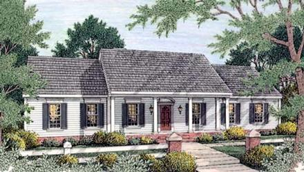House Plan 40022