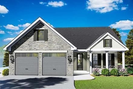 House Plan 40040
