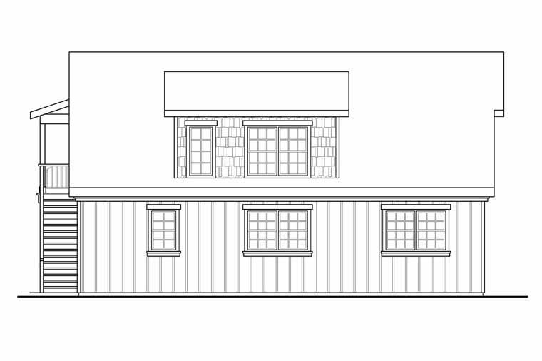 Craftsman, Traditional 2 Car Garage Plan 41246 Picture 1